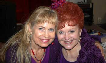 Linda Wolfe and Norma Spinney
