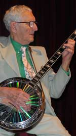 ragtime jimmy green plays banjo